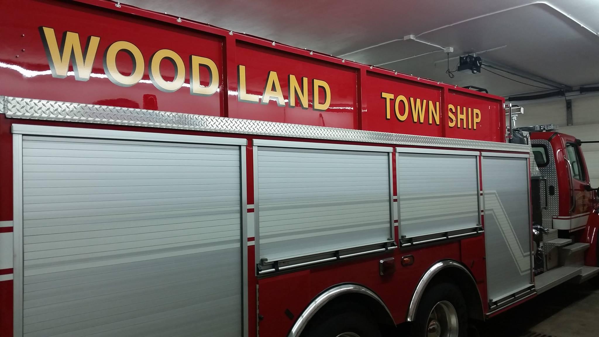 Woodland Township Fire Truck